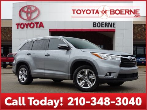 Certified Pre-Owned 2016 Toyota Highlander Limited Platinum V6